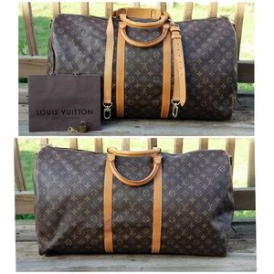 Louis Vuitton Authentic Bandouliere Keepall 60